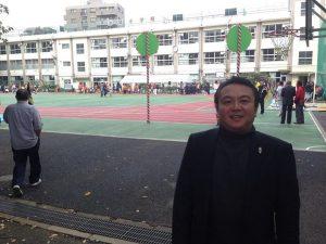 おはようございます。 本日は池袋小学校にて、豊島区町会連合会第三地区の、第33回連合大運動会です。