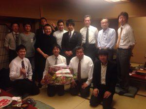 本日は、東京商工会議所豊島支部青年部の忘年会に参加しています。