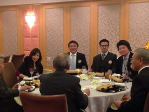本日は、東京豊島西ライオンズクラブの新年会にも参加しています。