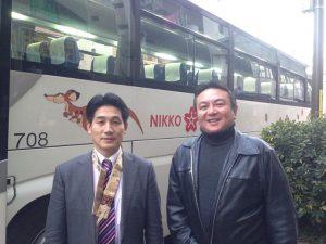 おはようございます。 本日は、前豊島区議会議員の古坊知生さんが講元の、東池袋南大塚成田講の成田山新勝寺初詣に参加させていただきます。