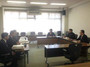 本日の豊島区議会は、会派予算説明会です。