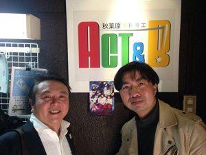 祭文太郎監督の映画「メテ乙女」の上映試写会、舞台挨拶イベントに参加しています。
