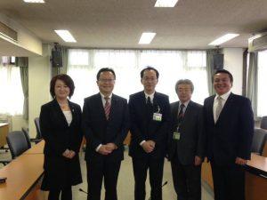 この4月から新しく着任した渡邉浩司副区長に挨拶をさせていただきました。