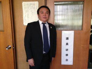 本日の豊島区議会は議員研修会です。