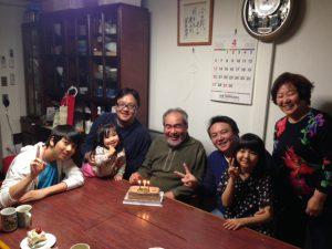 父親の誕生日会を実家で行いました。