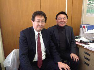 新宿区議会議員の、のづたけし議員に豊島区議会会派控室にお越しいただきました。