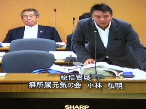 平成26年豊島区議会 決算委員会集中審議。第一日目は、総括質疑です。