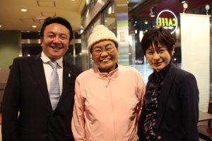 元衆議院議員井脇ノブ子先生、前豊島区議会議員のはしもと久美先生とお会いし、情報交換をさせて頂きました。  井脇先生、はしもと先生には日頃より活動を応援して頂き、本当に心強い限りです。