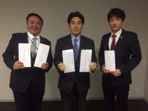「議会改革検討会」に関する公開質問状を、豊島区議会各会派に提出。各会派の賛否や見解を、公に伺います。